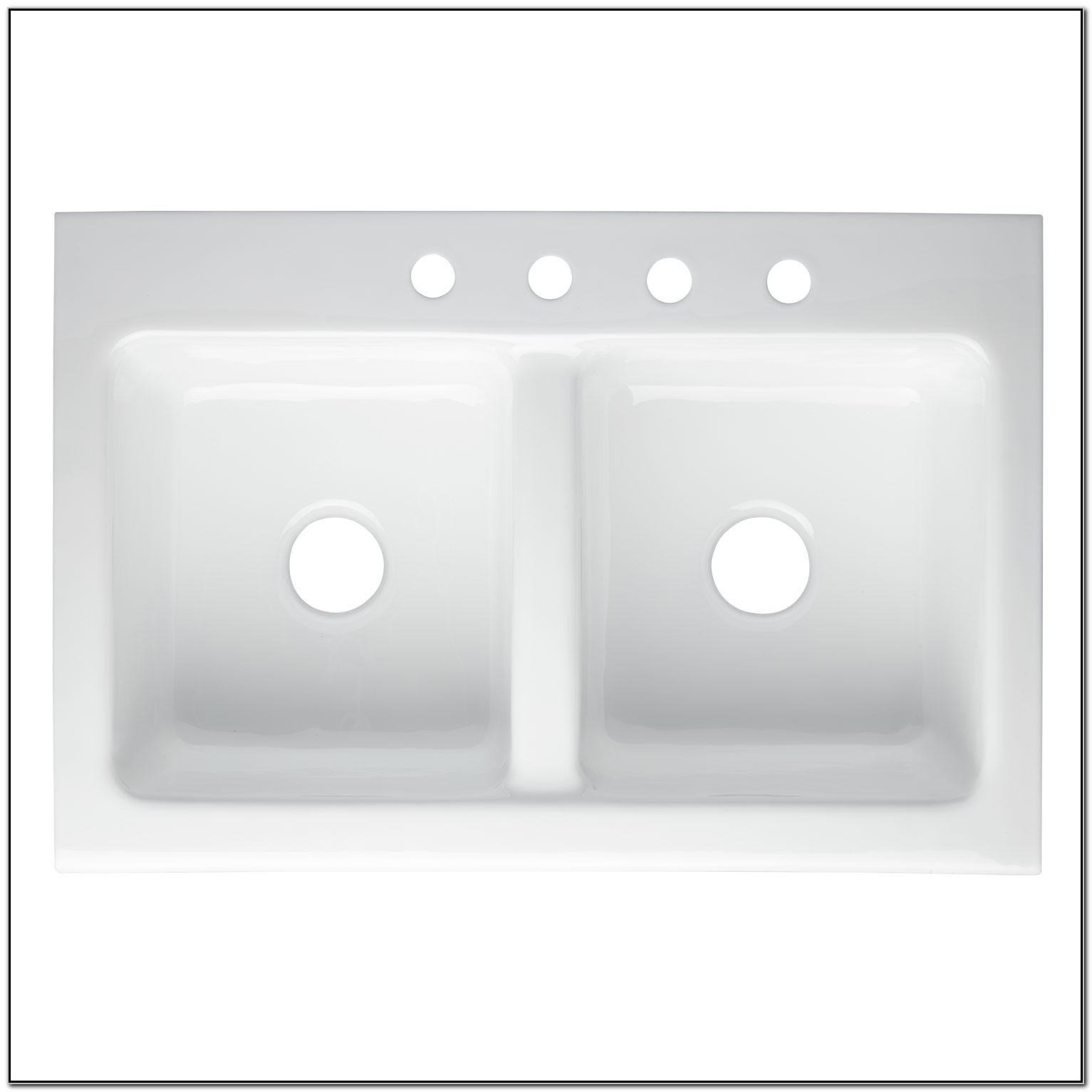 Farmhouse Sink With Faucet Holes