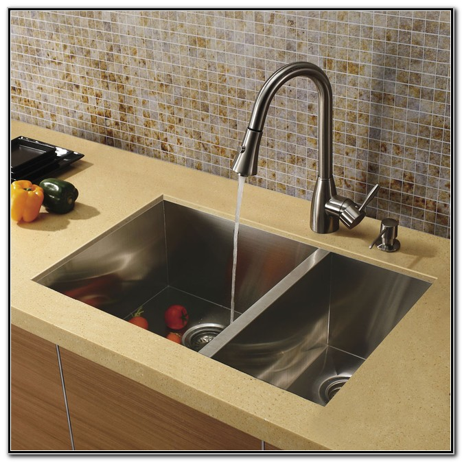 Faucets For Undermount Kitchen Sinks