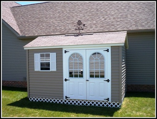 Fiberglass Double Doors For Shed