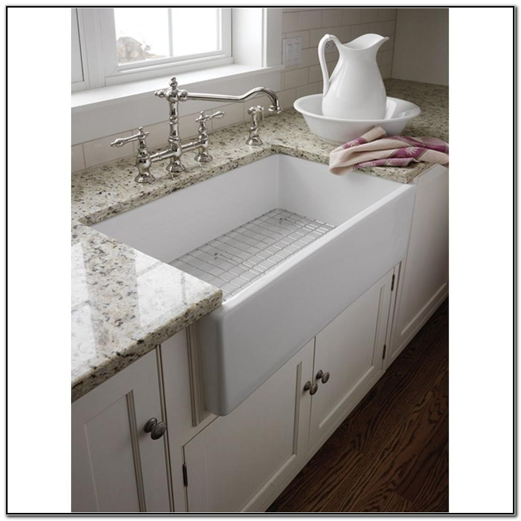 Fireclay Apron Front Farmhouse Sink