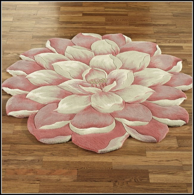 Flower Shaped Rugs Uk