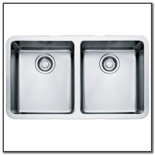 Franke Undermount Double Bowl Kitchen Sink