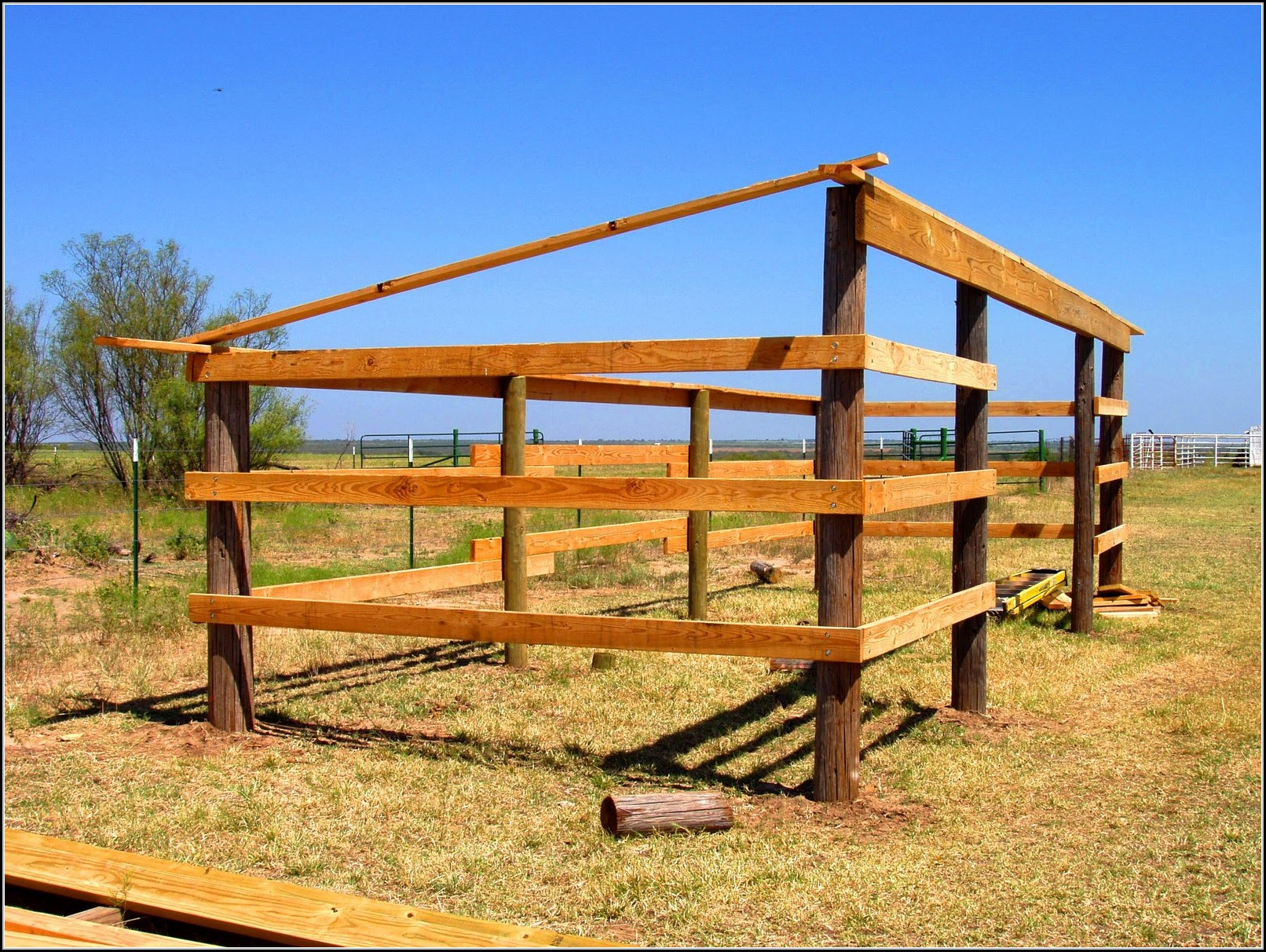 Free Lean To Horse Shed Plans