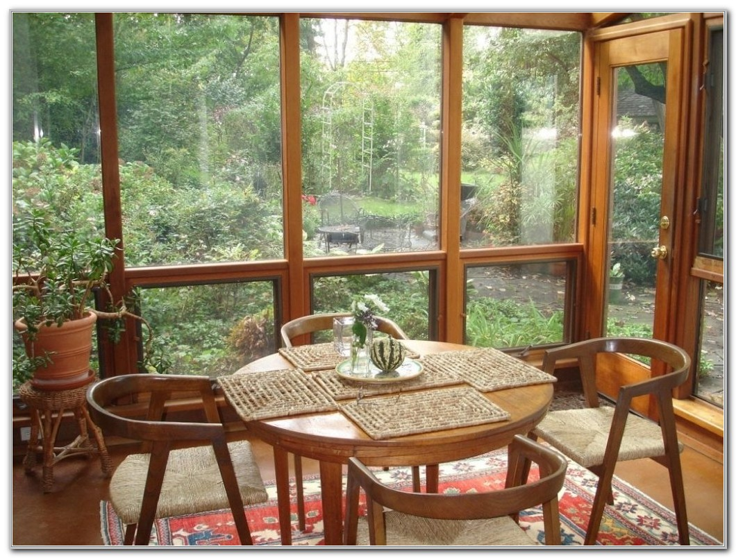 Furniture For A Small Sunroom