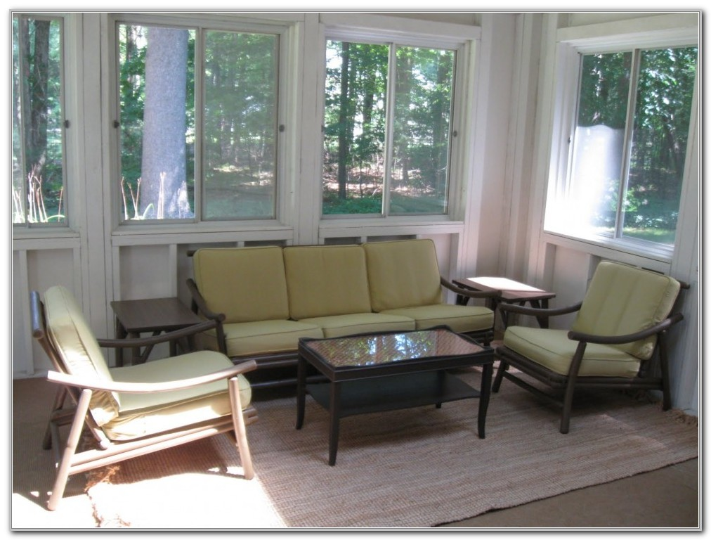Furniture For Small Sunroom