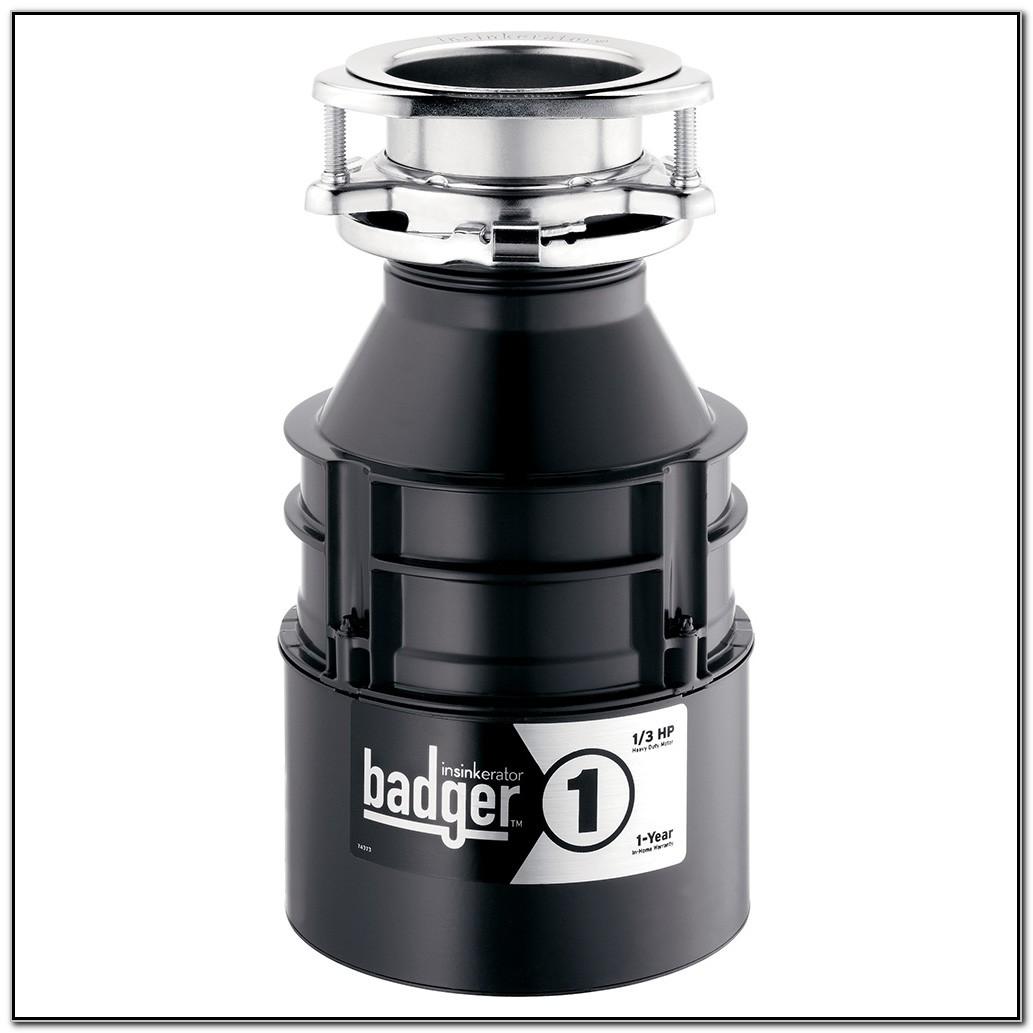 Garbage Disposal Insinkerator Badger 1