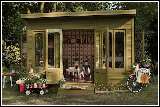 Garden Sheds For Small Spaces