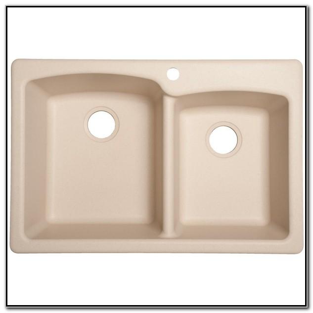 Granite Undermount Kitchen Sinks Double Bowl