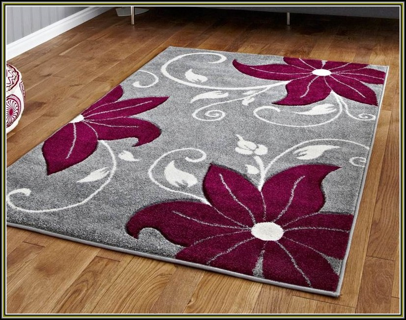 Gray And Burgundy Area Rugs
