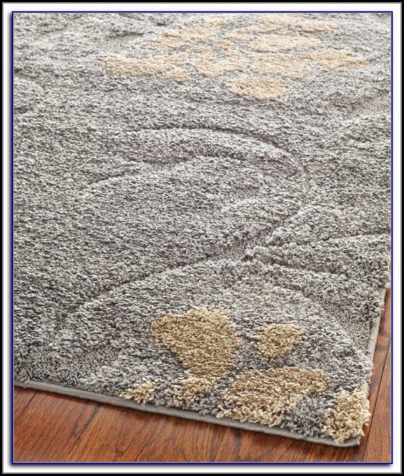Gray And Tan Area Rug