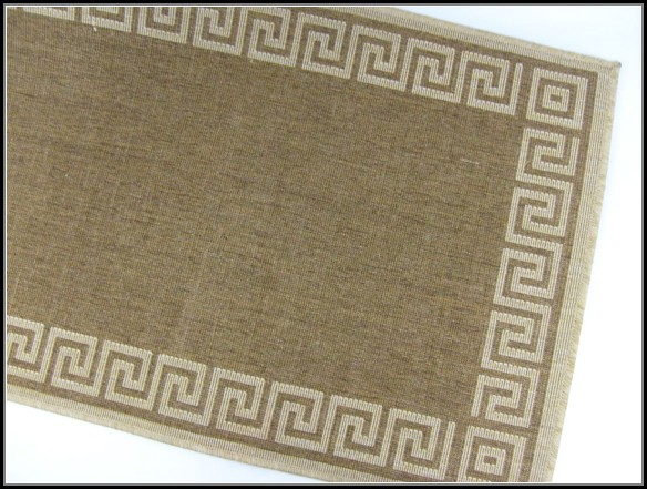 Greek Key Outdoor Rug