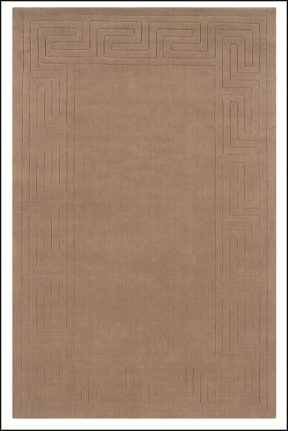 Greek Key Pattern Rug