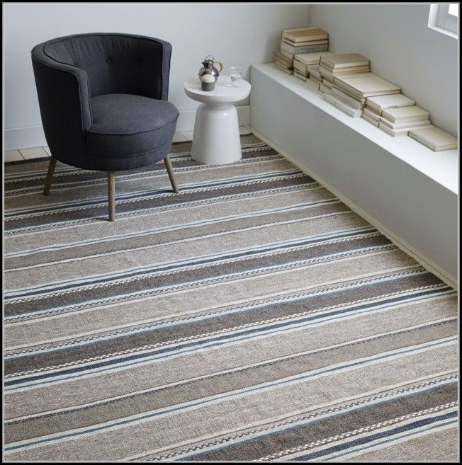 Grey And White Striped Rug Australia