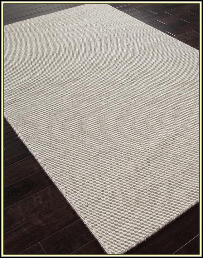 Grey Flat Weave Rug
