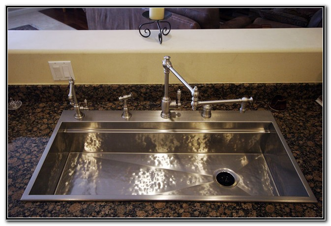 Hammered Stainless Steel Sink Kitchen