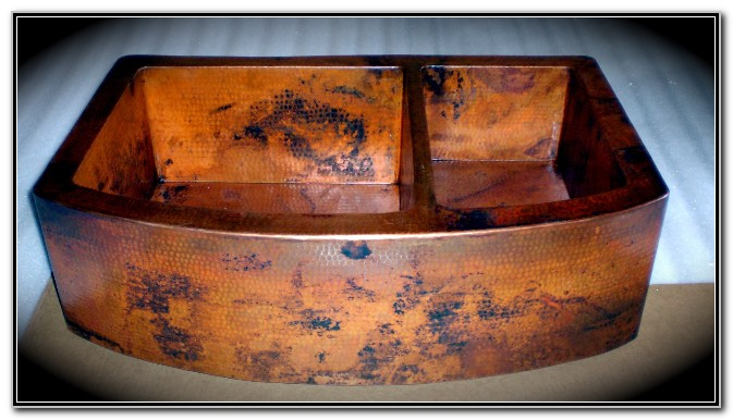 Hand Hammered Copper Kitchen Sinks