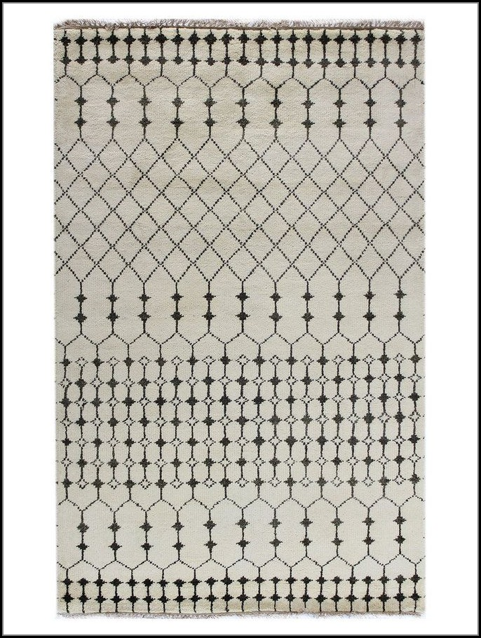 Hand Knotted Moroccan Rugs
