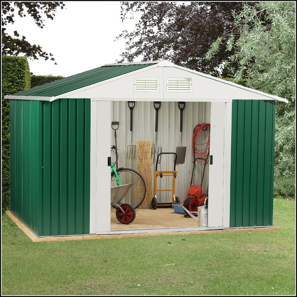 Heavy Duty Steel Garden Sheds
