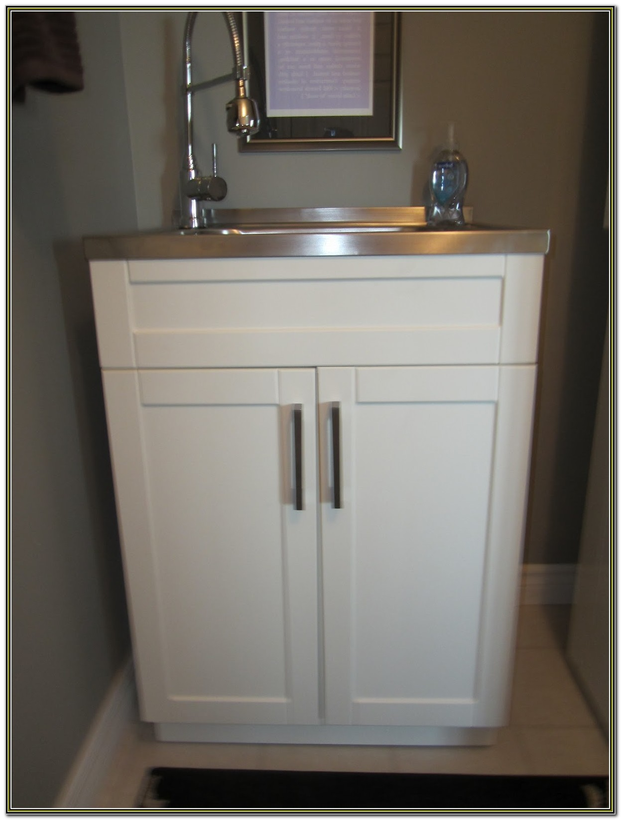 Home Depot Laundry Sink Cabinet