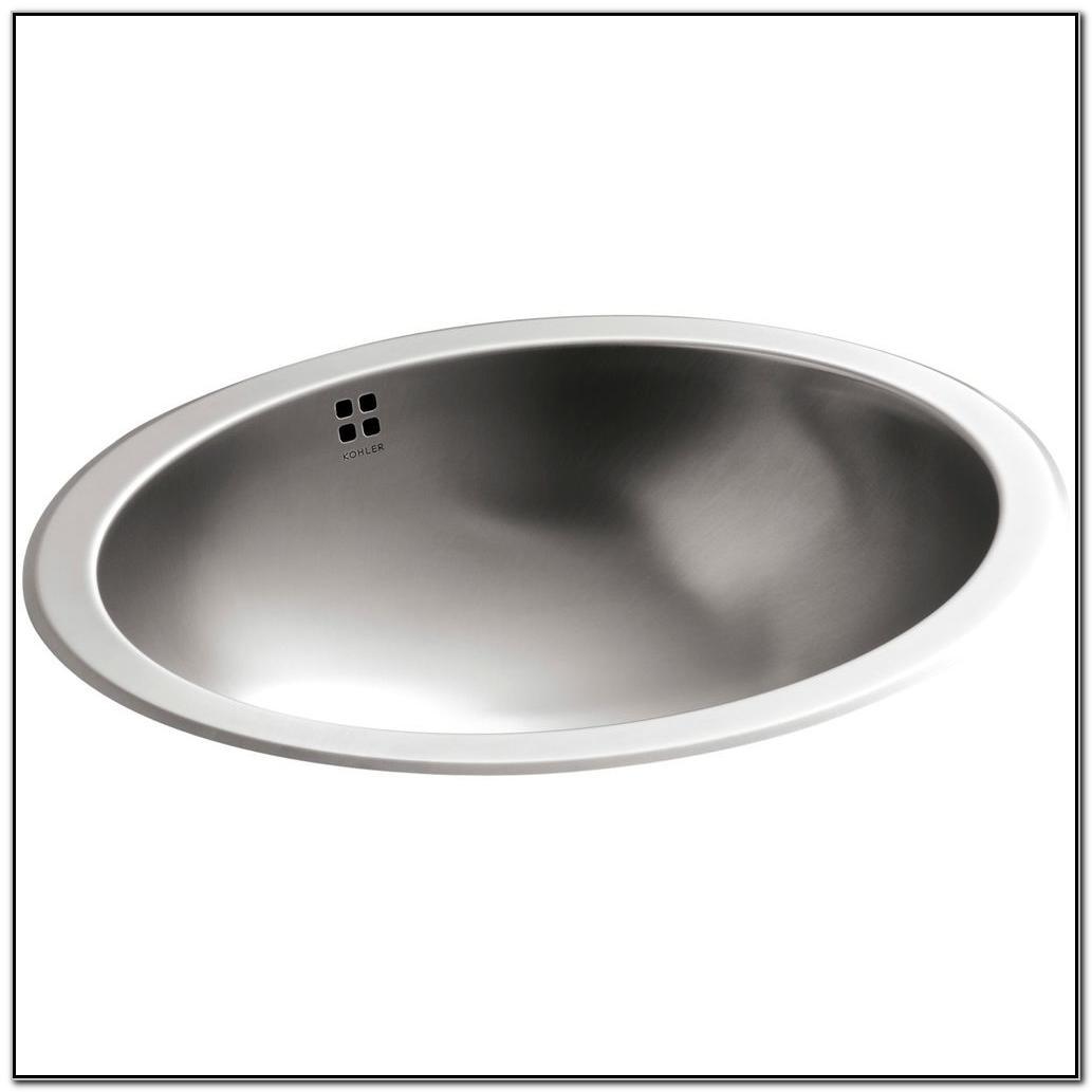 Home Depot Stainless Steel Bathroom Sinks