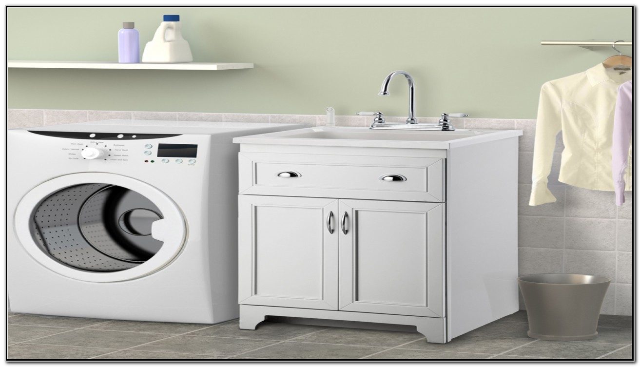 Home Depot Utility Sink Cabinet