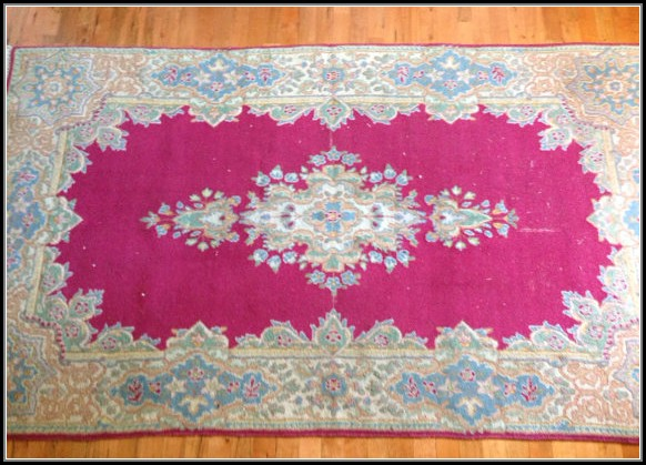 Hot Pink Persian Rug