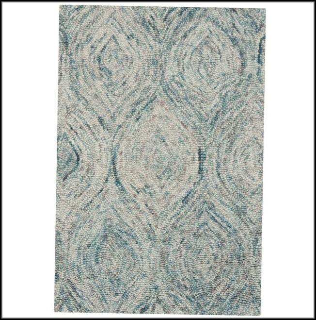 Ikat Ivory Blue Area Rug By Safavieh