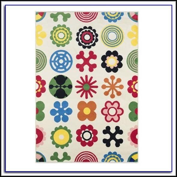 Ikea Color Block Rug