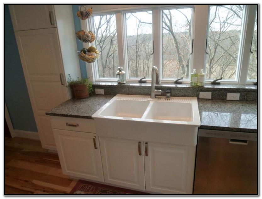 Ikea Double Sink Kitchen Cabinet
