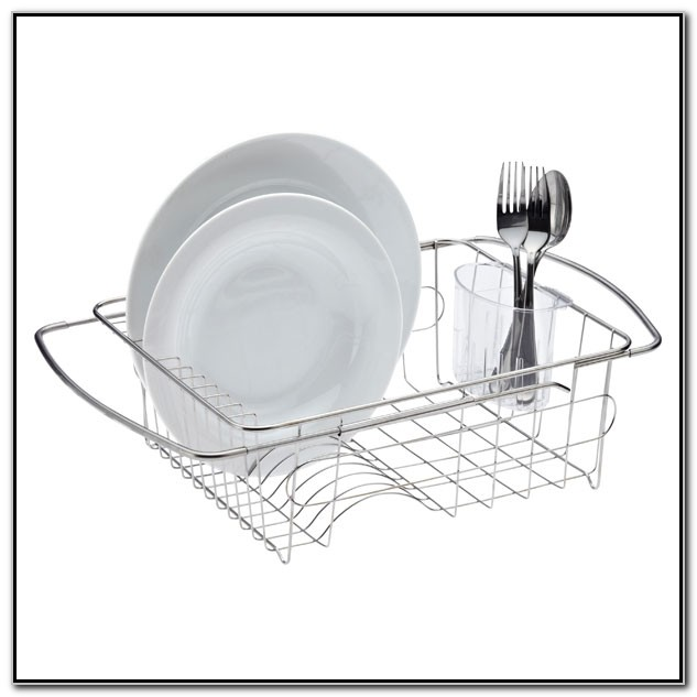 In Sink Dish Drainer