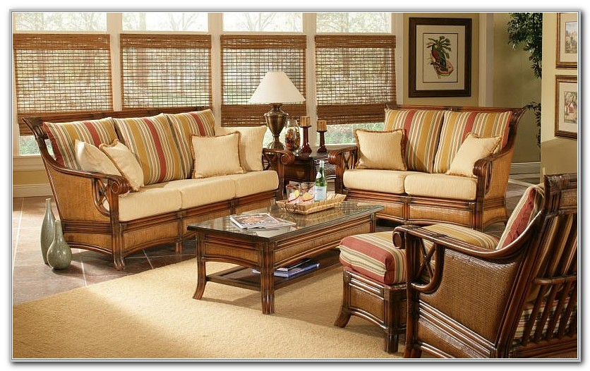 Indoor Sunroom Wicker Furniture