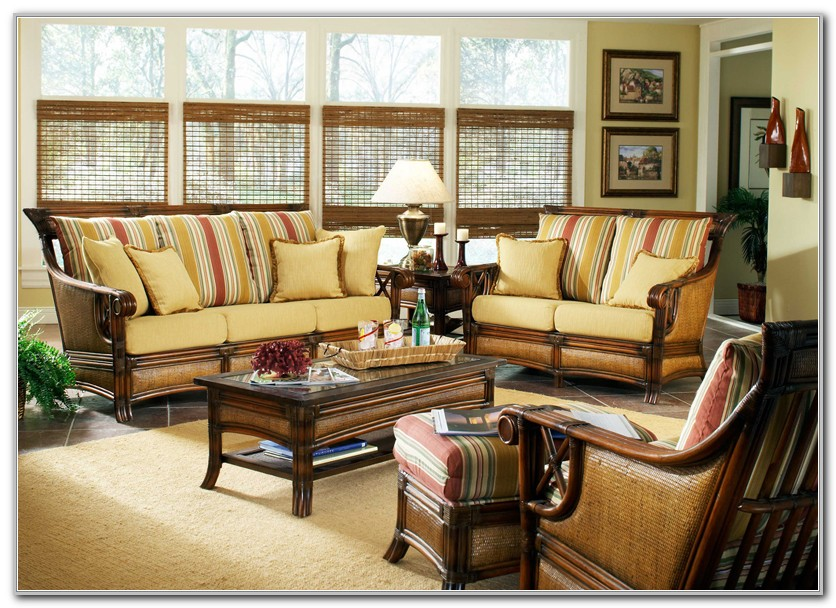 Indoor Wicker Sunroom Furniture