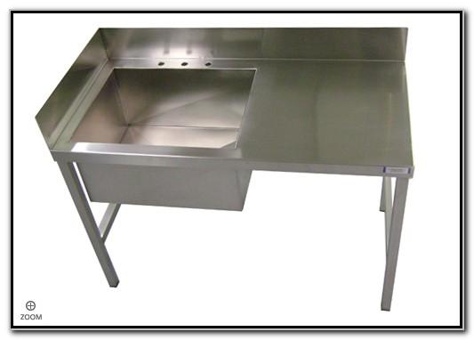 Industrial Stainless Steel Sink