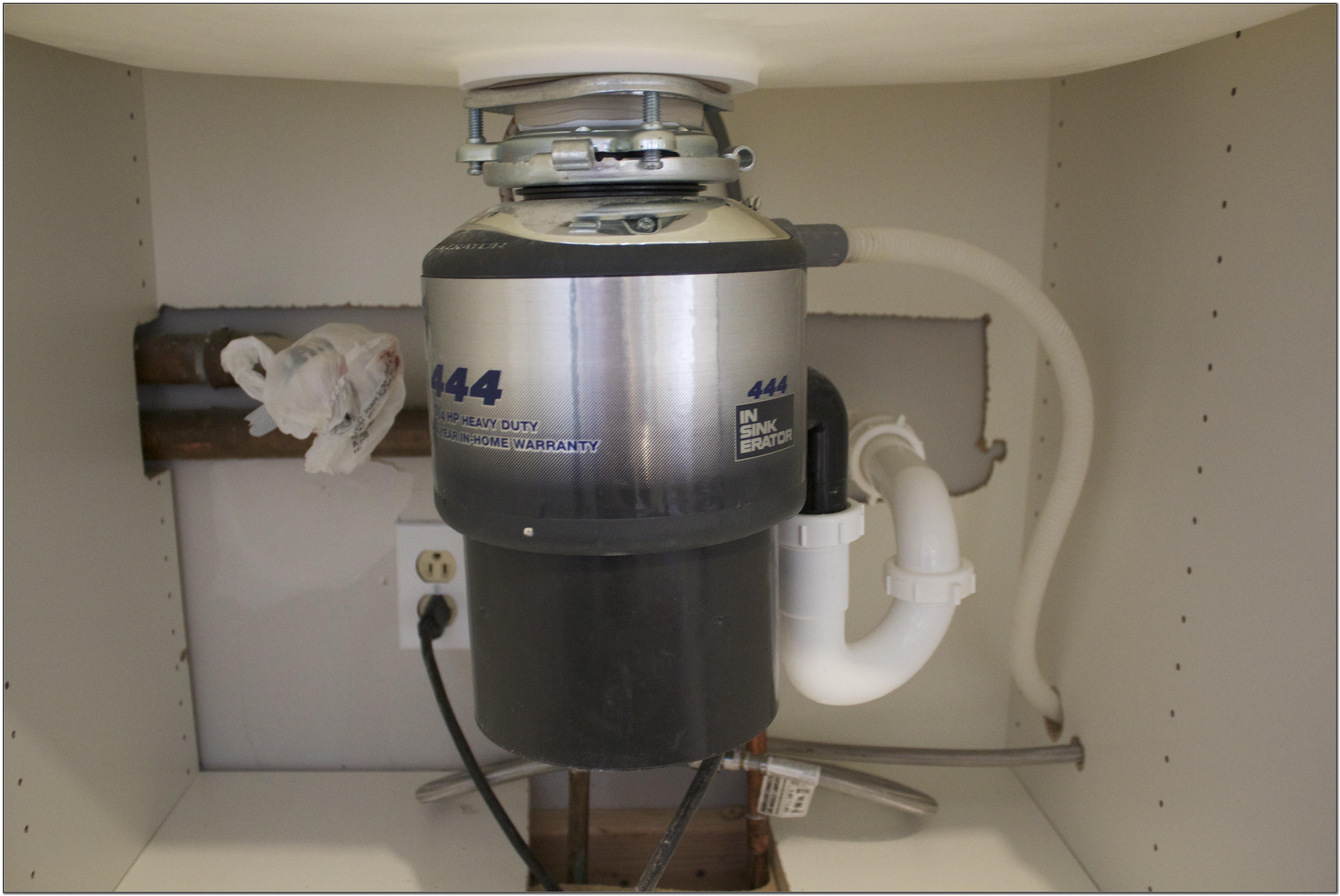 Install Hot Water Dispenser Kitchen Sink