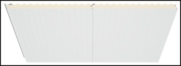 Insulated Shed Roof Panels