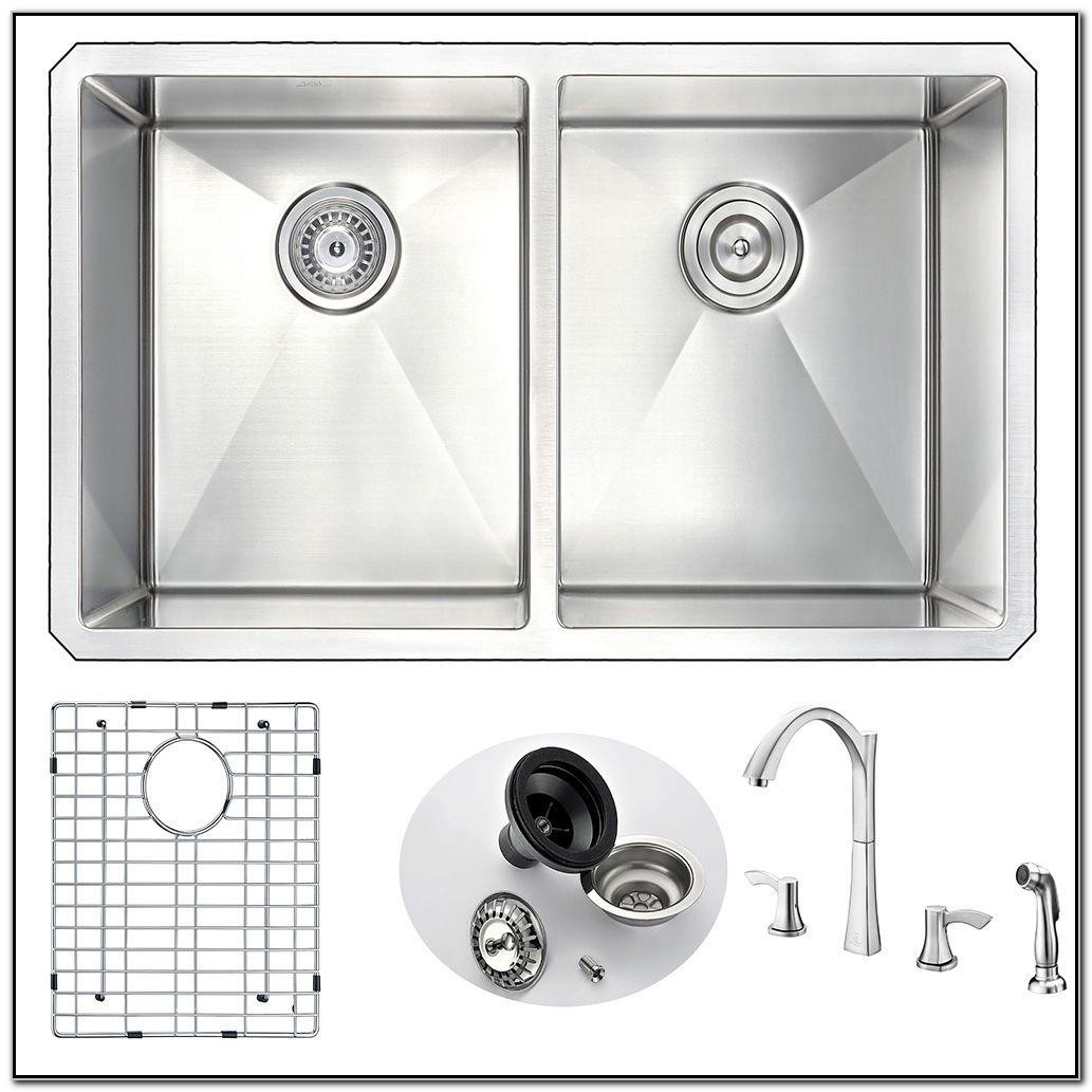 Kitchen Sink And Faucet Sets Home Depot