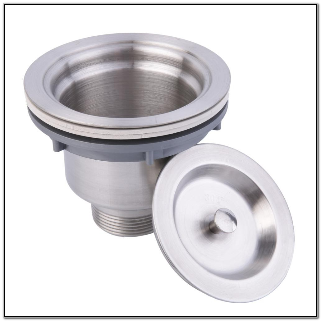 Kitchen Sink Basket Strainer Assembly