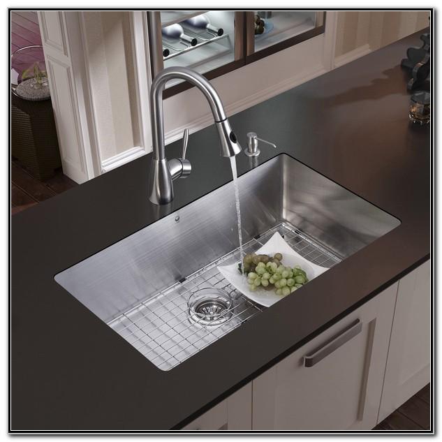 Kitchen Sink Drain Installation With Garbage Disposal