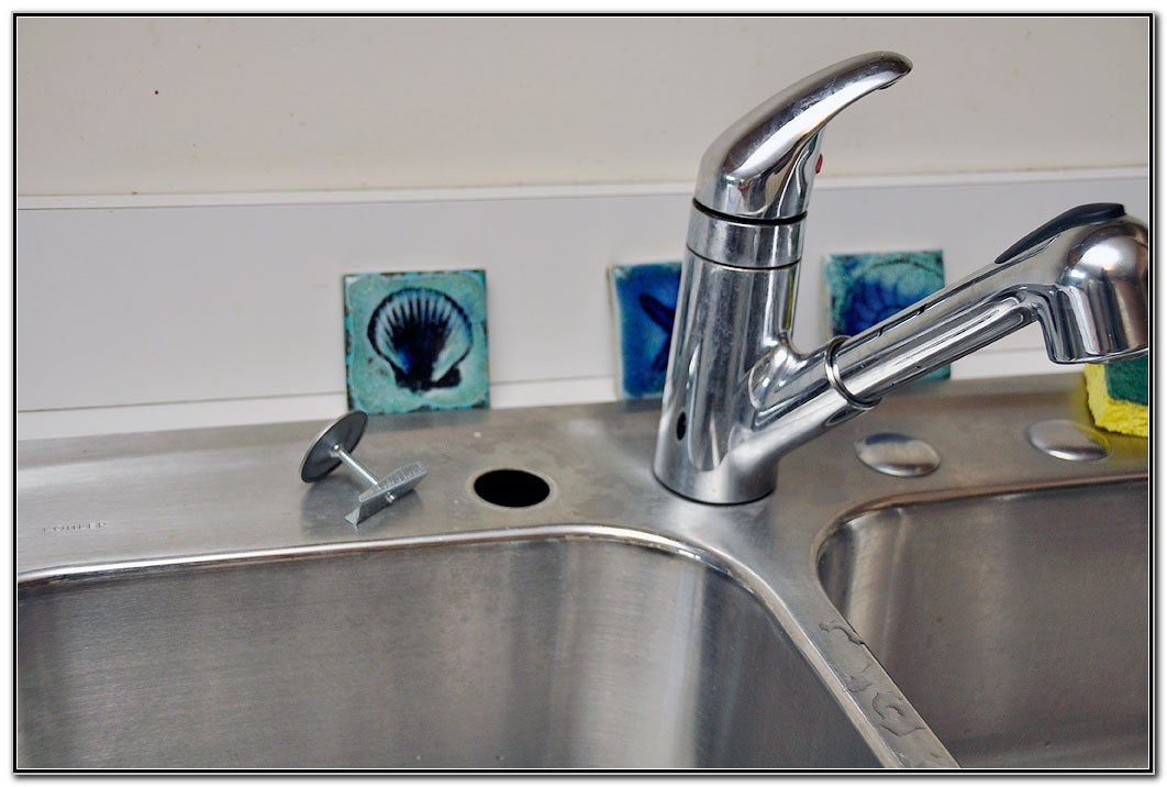 Kitchen Sink Hole Cover Stainless