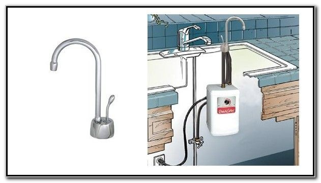 Kitchen Sink Hot Water Dispenser