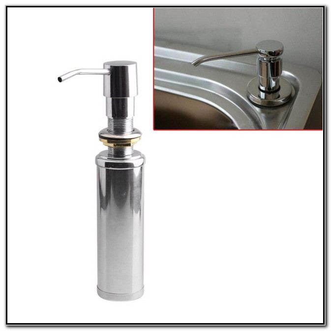 Kitchen Sink Soap Dispenser Bottle Replacement