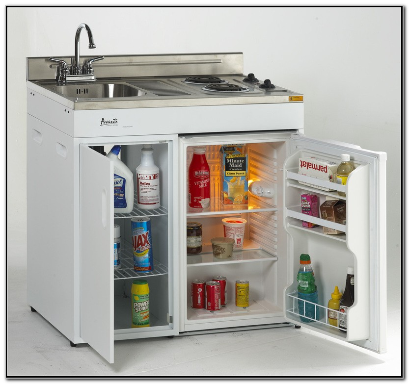 Kitchen Sink Stove Refrigerator Combo