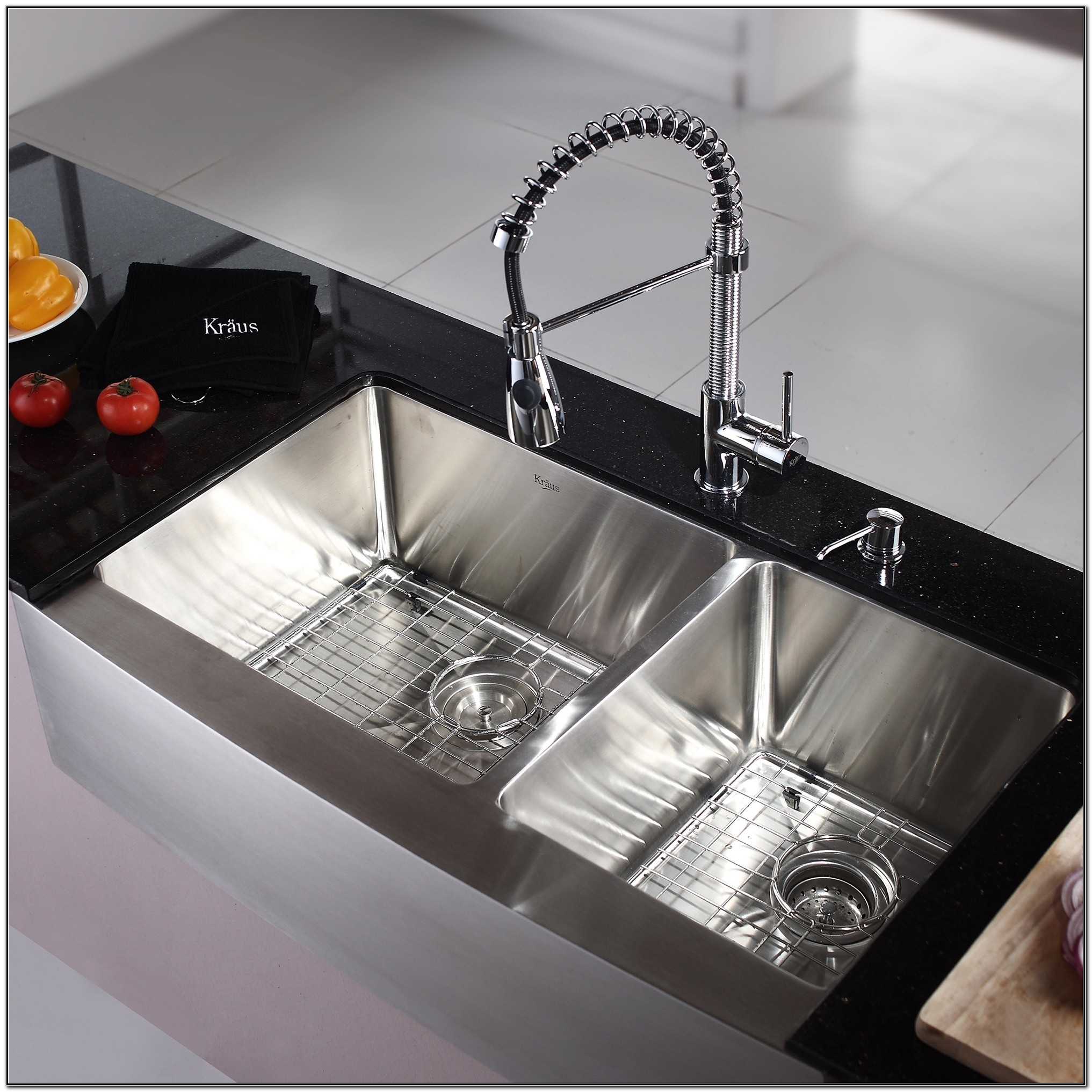 Kitchen Sink With Drainboard Home Depot