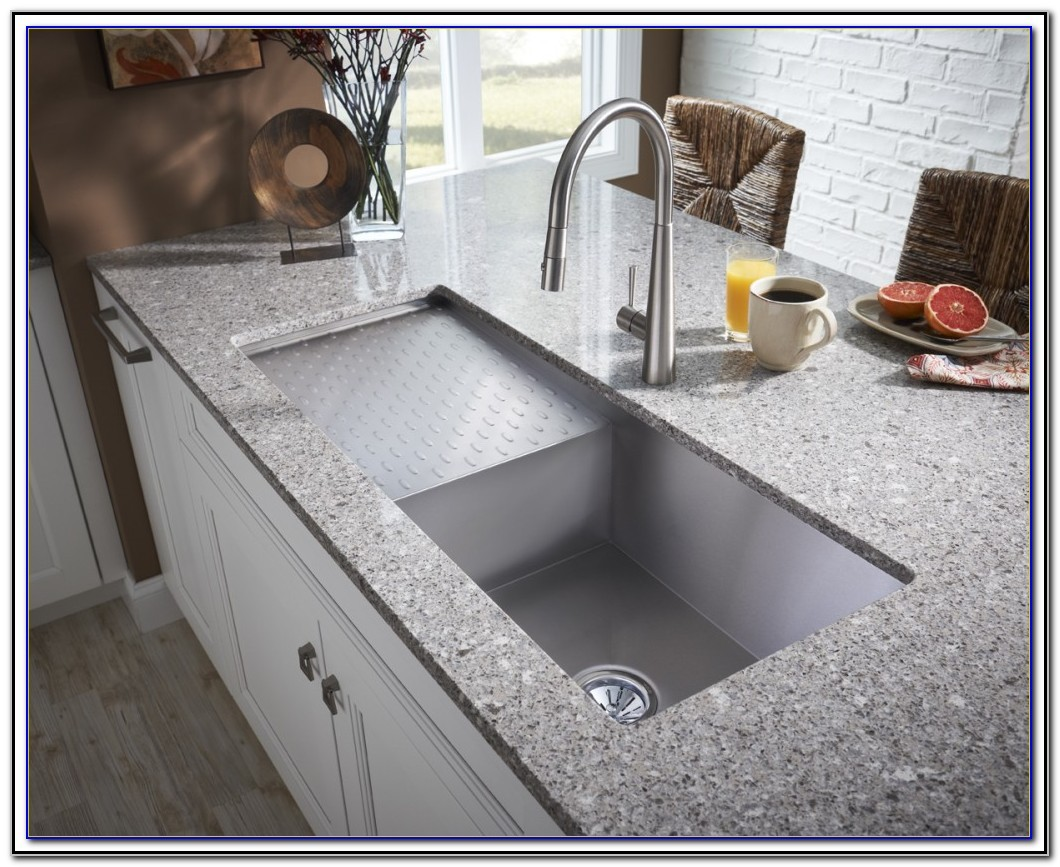 Kitchen Sink With Drainboard India