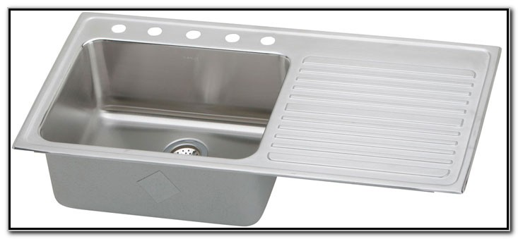 Kitchen Sinks With Drainboards Stainless Steel