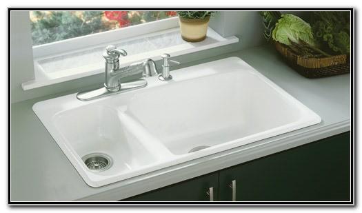 Kohler Cast Iron Kitchen Sinks