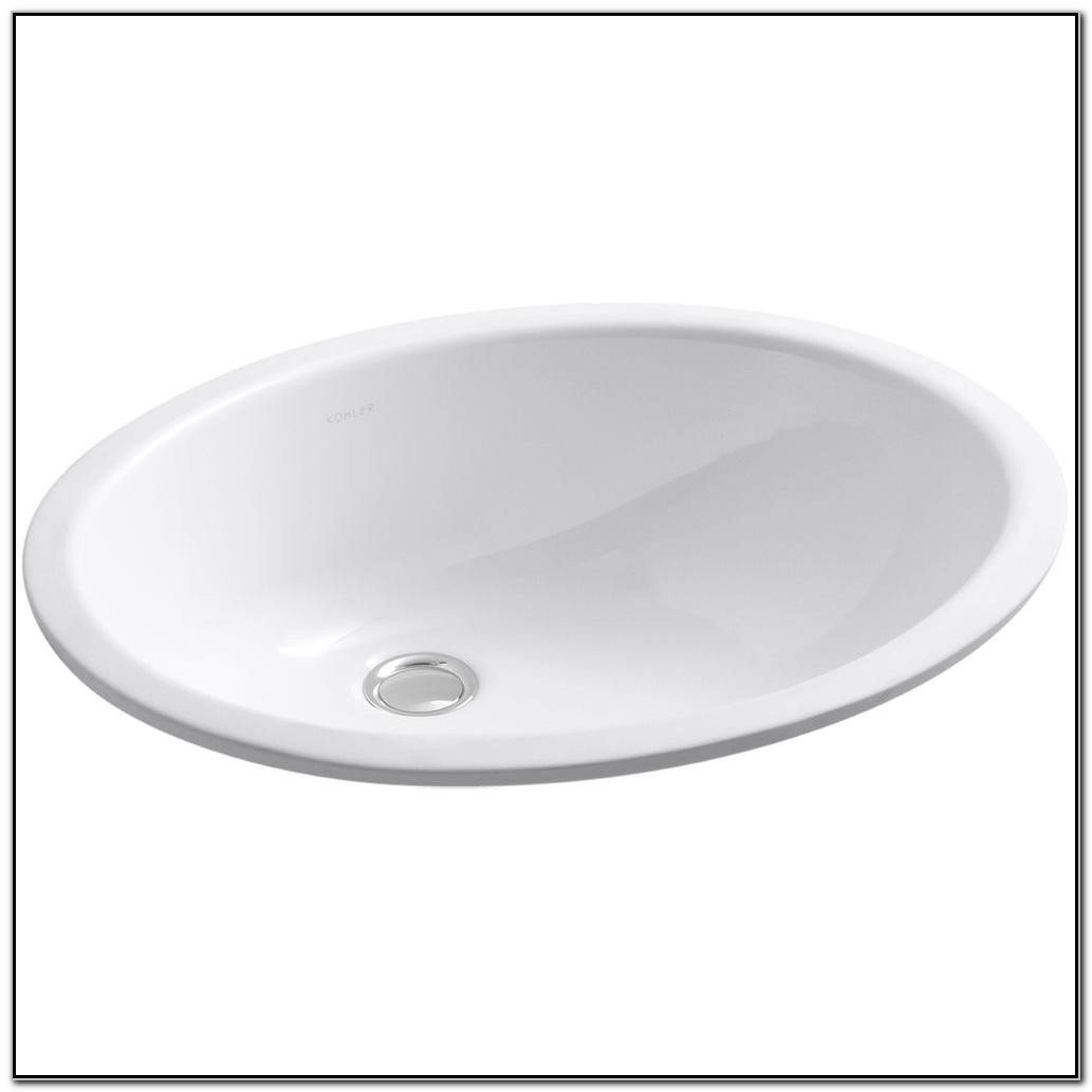 Kohler Caxton Undermount Bathroom Sink In White
