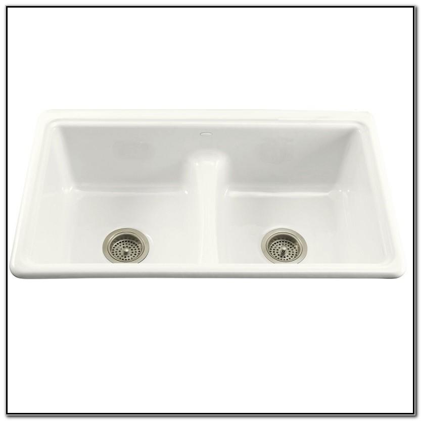 Kohler Deerfield Smart Divide Sink