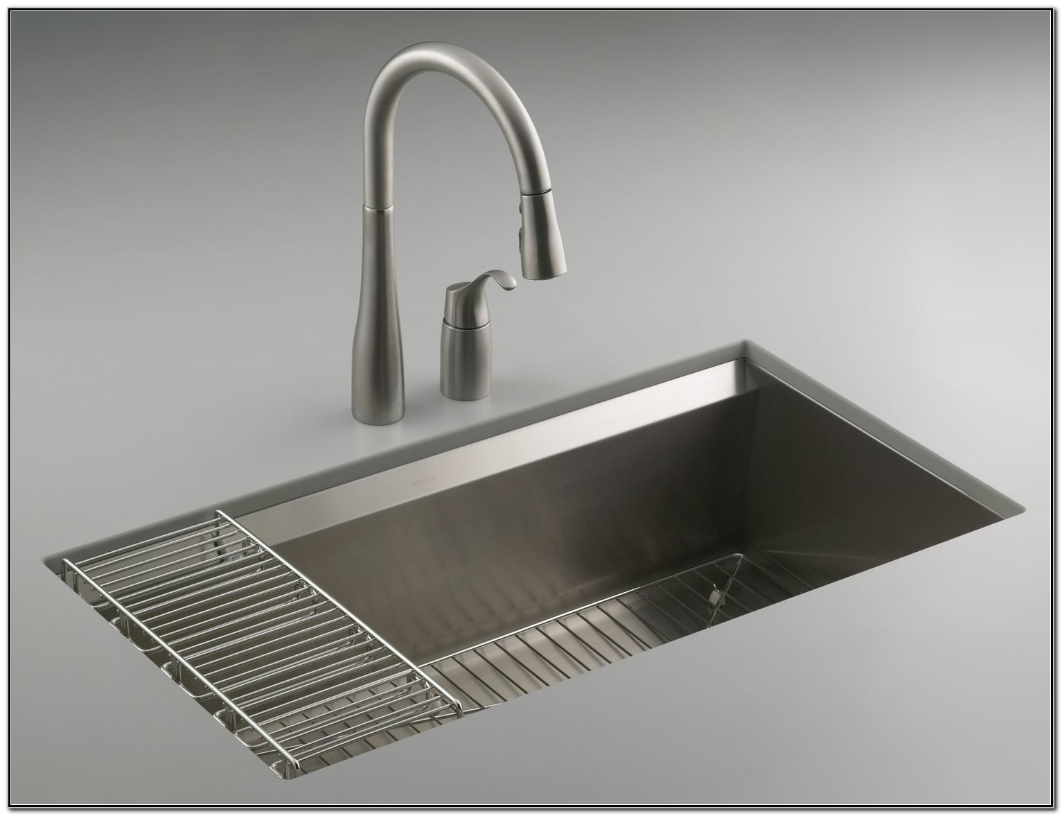 Kohler Kitchen Sinks Stainless Steel