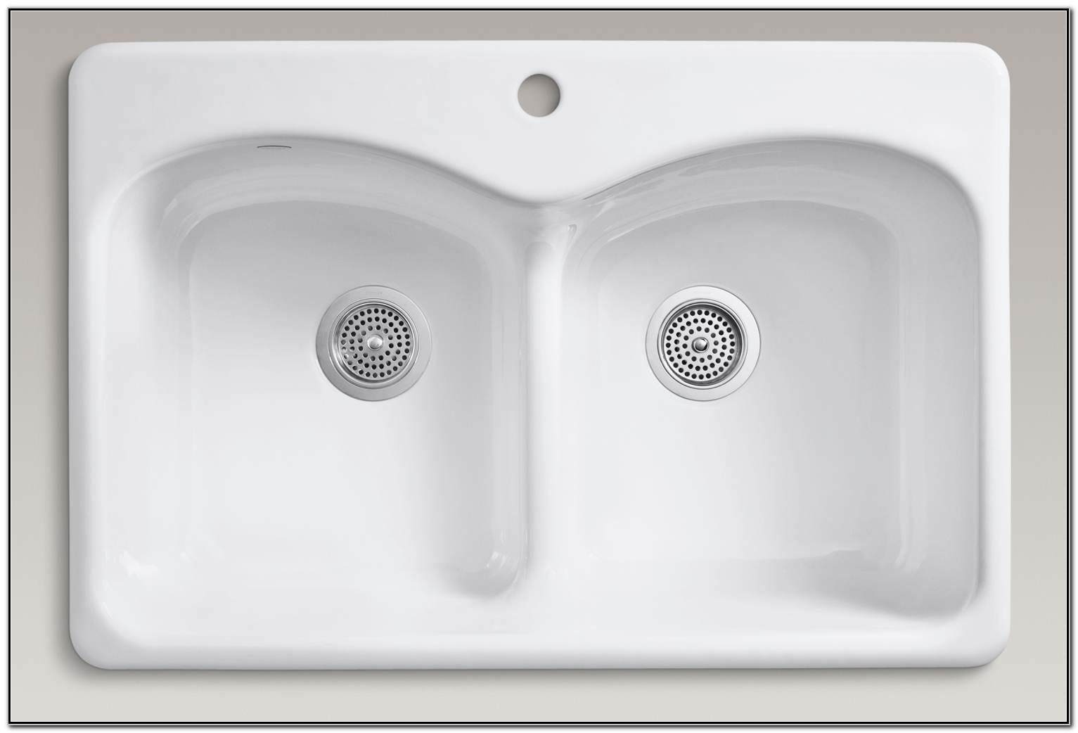Kohler Langlade Smart Divide Sink